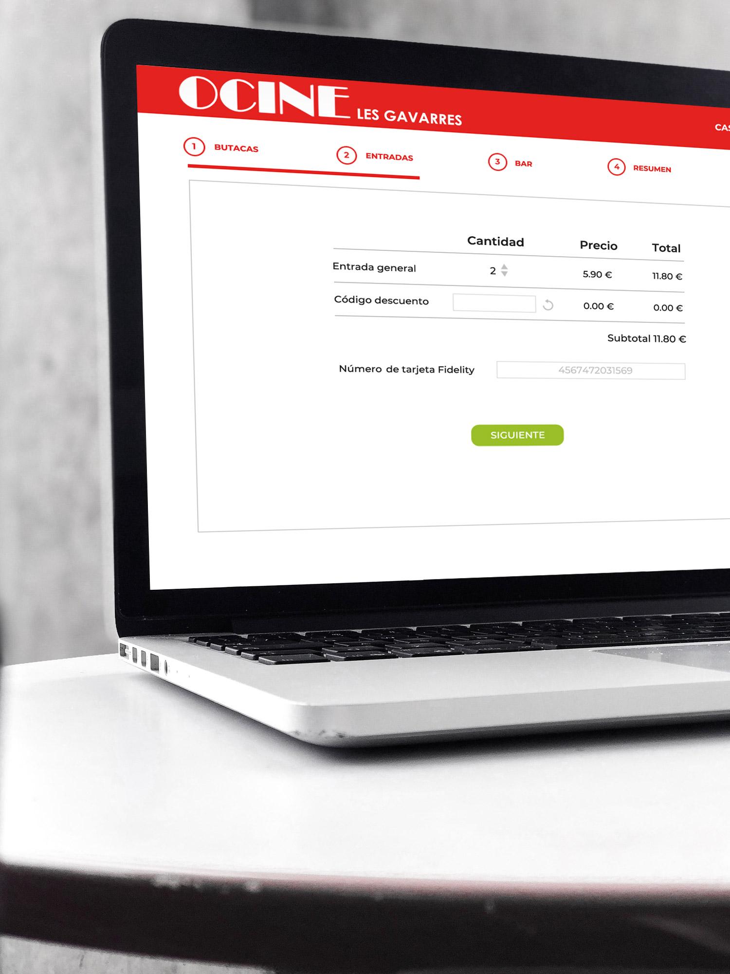 portfolio-ocine-ecommerce